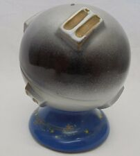 VTG Antique Mid Century Modern ATOMIC Ceramic SPACE BANK Fred Roberts SPUTNIK