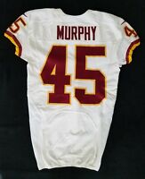 #45 Jerome Murphy of Redskins NFL Locker Room Game Issued Player Worn Jersey