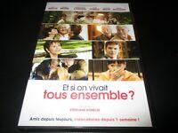"DVD ""ET SI ON VIVAIT TOUS ENSEMBLE"" Guy BEDOS, Daniel BRUHL, Jane FONDA"