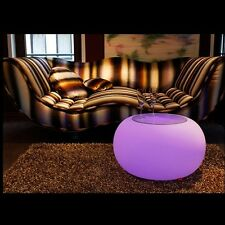 Led Bar Table Pub Light Decor Home Garden Stand Remote Control Drink Stool New