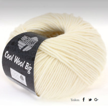 Lana Grossa - Cool Lana Big 50G Color 601 Blanco Crudo