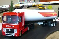 LKW Renault Tanker mit Anhänger in 1:32 Slotcar-DEKORATION für Carrera 10023A