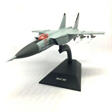 MiG-25P Foxbat-A Soviet Fighter Aircraft 1970 Year 1/150 Scale Model with Stand