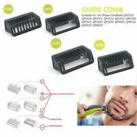 1 2 3 5 mm Comb Trimmer Clipper Body Skin Kamm Kammaufsatz für Philips OneBlade