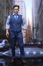 1/6 BVS Dawn of Justice Batman Ben Affleck Blue Shirt Vest Suit No Body & Head