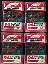 More details for topps f1 turbo attax 2021 stickers 4 tins for sale!!!