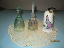 3 Beautiful Bells, not a set, from Tiara, Avon and Jean Lowe