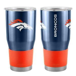 Denver Broncos 30oz Ultra Travel Tumbler [NEW] NFL Drink Cup Tea Mug Coffee