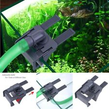 PVC Aquarium Tank Water Pipe Clamp Hose Tube Rod Fixing Clip Mount Fixed Holder