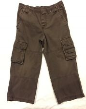 Cherokee Boys Pull-on Cargo Pants Size XS Brown