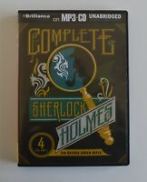 The Complete Sherlock Holmes - by Sir Arthur Conan Doyle - 4xMP3CDs - Audiobook