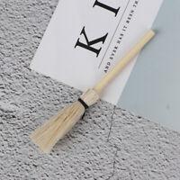 1:12 Casa de muñecas en miniatura de madera blanca escoba besom ado QA
