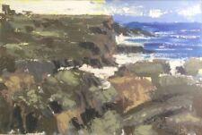 ORIGINAL MARTIN STONE Wild Atlantic IRELAND IRISH SKIBBEREEN  CORK OIL PAINTING