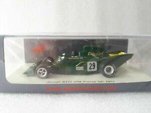 Spark S3950 1:43 Ensign N173 French GP 1973 Rikki von Opel