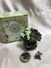 Bloomin' Basket with Brie McNibble-Boyds Bears Treasure Box #392121 Nib