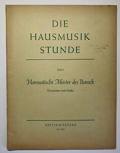 "Cembalo-/Orgel-/Violinnoten: ""Hanseatische Meister des Barock"" Heft 5 (gebr.)"