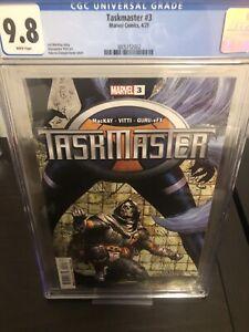 Taskmaster 3 cgc 9.8 - First Taegukgi🔥🔥🔥