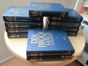 Der Brockhaus in 15 Bänden A - Z (1997 herausgegeben)