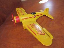 Coca-Cola Yellow Airplane Bank Collectible Advertising Piece               BOX