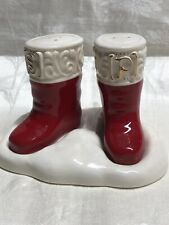 Grassland Road Holiday Boots Salt And Pepper Santa Clause