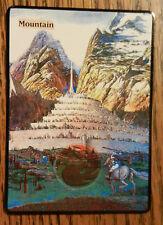 Magic the Gathering Basic Land MTG Altered art The Hobbit Minas Tirith Mountain