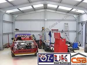 DIY BANGER STOCK CAR STEEL BUILDING KIT DOMESTIC GARAGE