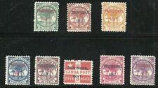 Album Schätze Samoa Scott #31-38 Provisional Govt Überdruck Postfrisch