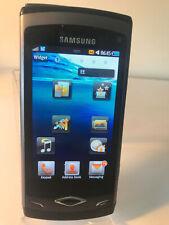 Samsung Wave GT-S8500 - Ebony Grey (Unlocked) Smartphone Mobile S8500