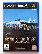 ENERGY AIRFORCE AIM STRIKE- PLAYSTATION 2 PS2 PLAY STATION PAL ESPAÑA AIMSTRIKE