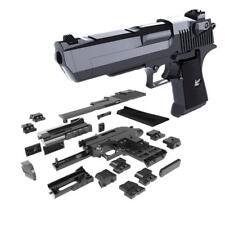 Gun Toy Blocks Puzzle Model Building Diy Assembly Eagle Desert Game Brain Toys