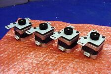 FOUR NEW PRECISION HYBRID 1.8 DEG., 4.9V STEPPERS FROM MINEBEA - MODEL 17PM-K312