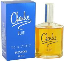 Authentic Charlie Blue Perfume by Revlon for Women EDT 3.4 oz New In Box