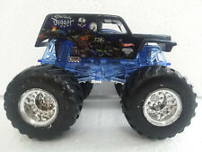 Son Uva Digger Hot Wheels Monster Jam Truck 1:64 Scale Black with Chrome Wheels