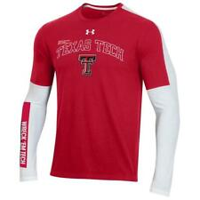 Mens Texas Tech Red Raiders Under Armour Long Sleeve T-Shirt Large NEW Mahomes