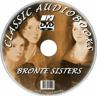 CHARLOTTE EMILY & ANNE BRONTE CLASSIC NOVELS & POEMS  MP3 AUDIOBOOKS PC DVD NEW