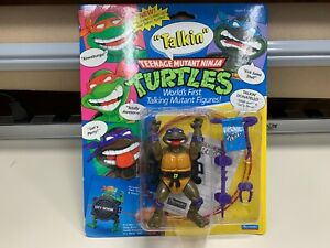 NEW Teenage Mutant Ninja Turtles TMNT TALKIN DONATELLO 1991 FACTORY SEALED