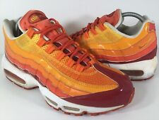 Nike Air Max 95 Human Torch Orange Yellow Red White Size 8.5 Rare 609048-681