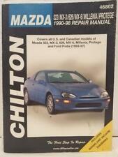 Chilton's Mazda 323, MX-3, 626, Millenia & Protege, 1990-98 (1999, Paperback)