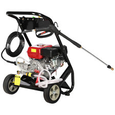 More details for gasoline petrol pressure washer 3000 psi 8hp garden patio high power cleaner jet