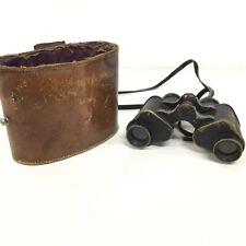 World War 1 British Binoculars Prismatic No.3 MKI & Case (1915) #452