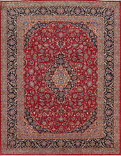 Wool Traditional Floral Kashmar Area Rug Oriental 10x13 Hand Knotted