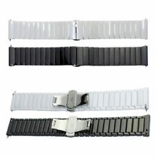 Ceramic Link Bracelet Watch Band For Samsung Galaxy Gear S2 Classic Wrist Strap