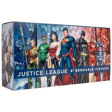 """NJ CROCE JUSTICE LEAGUE 8"""" BENDABLE FIGURE BOXED SET"""