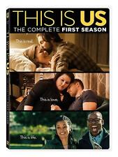 This Is US Season 1 Series One First (mandy Moore Chrissy Metz) DVD