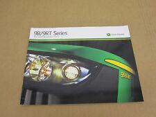 2012 John Deere 4wd tractor 9560 9510 9460 9410 9360 scraper sales brochure