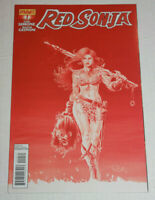Red Sonja #1 1:25 Blood Red Scott Variant Dynamite 2013 Gail Simone NM