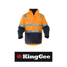 Mens KingGee 4 in 1 Waterproof Wet Weather Jacket Winter K55300 - BARGAIN