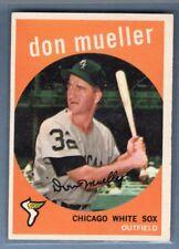1959 Topps #368 Don Mueller VG-EX (WA0R203)