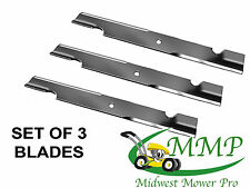 SET OF 3 Blades Replaces 30227-60V 60-in Deck Hi Lift