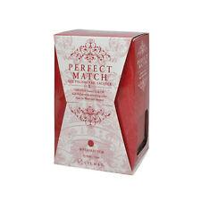 Lechat Perfect Match UV Gel + Nail Polish PMS189 Red Haute 0.5oz